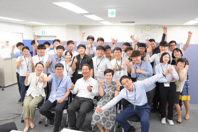 韓国の専門大学の学生さんが現地研修にいらっしゃいました!