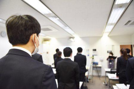 【新卒初日】3か月間の研修、その前に…?20年卒新入社員の入社式に潜入!